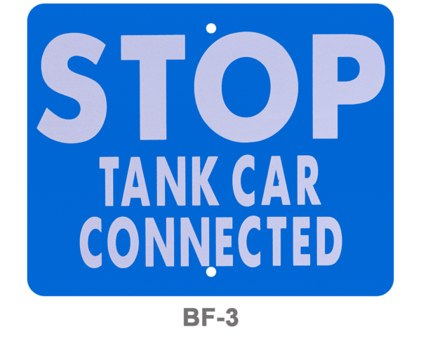 BF-3_ STOP TANK CAR CONNECTED_SIGNAL FLAG_BLUE