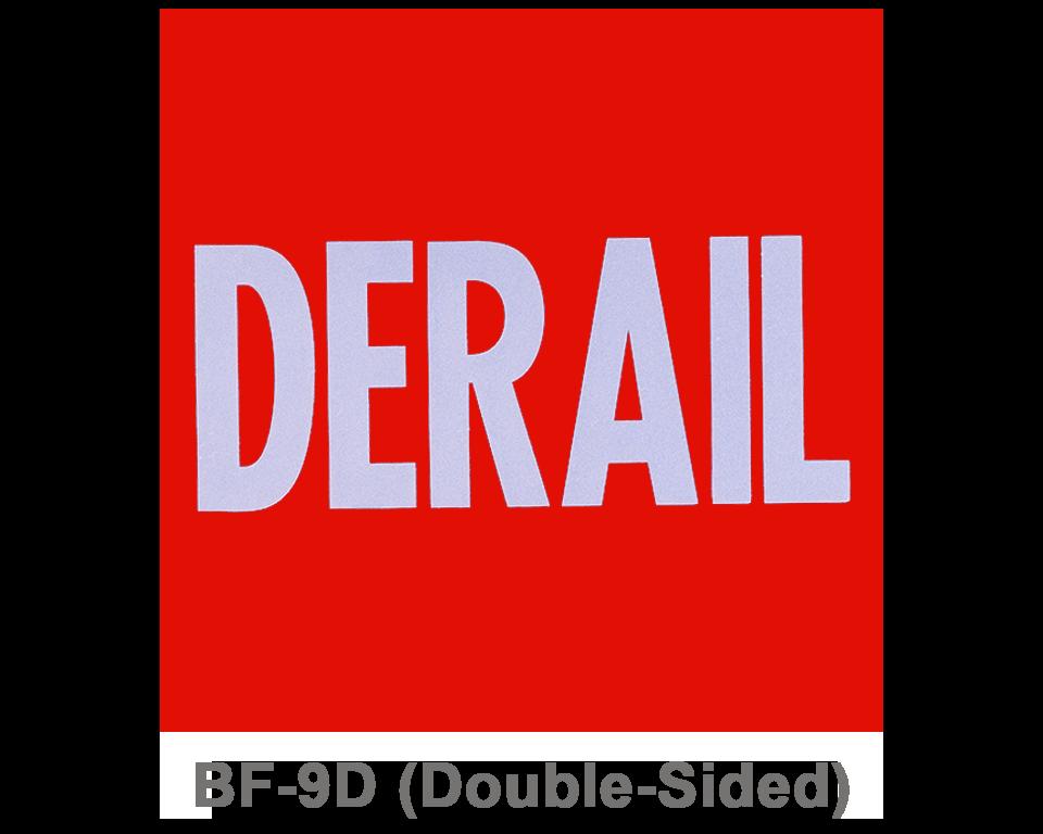 BF-9D_DERAIL_SIGNAL FLAG_RED